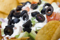 7 Layer Bean Dip Royalty Free Stock Images