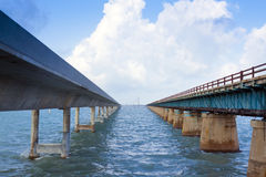 7 Meilen-Brücke Stockbild