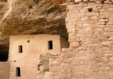 7 mesa废墟verde 库存图片