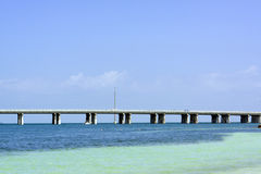 7 Mile Bridge Stock Photography