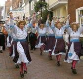 7 morris танцоров стоковые фотографии rf