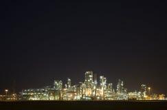 7 night refinery Στοκ εικόνα με δικαίωμα ελεύθερης χρήσης
