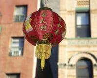 7 nya år för kinesgarnering Arkivbilder