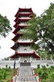 7 pagody kondygnacja Fotografia Royalty Free