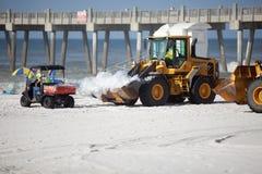 7 plażowy Lipiec Pensacola obraz royalty free