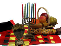 7 Principles of Kwanzaa royalty free stock photography