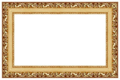 7 ramowych złoci Obraz Stock