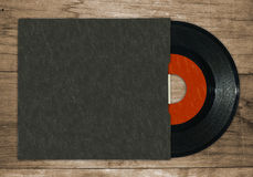 7'' single vinyl record Stock Photography