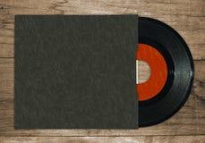7'' single vinyl record Stock Photography