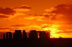7 stonehenge 库存照片