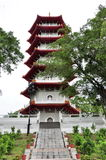7-storey pagoda Royalty Free Stock Photography