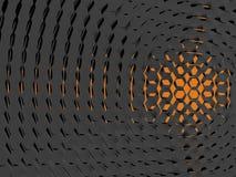 7 tło abstrakcjonistyczna pomarańcze Zdjęcia Stock