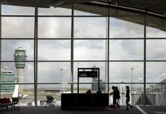 7 terminal na lotnisku Obrazy Royalty Free