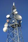 7 tower komunikacji Fotografia Royalty Free