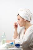 7 twarz do pielęgnacji włosów Obrazy Stock