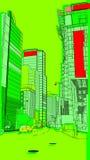 7 urbains Photographie stock libre de droits
