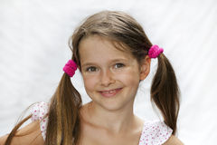 7 year old girl Stock Photography