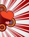 70 Валентайн сердца ретро s бесплатная иллюстрация