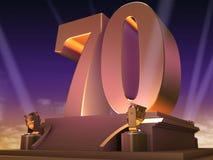 70 de oro - estilo de la película Imagenes de archivo