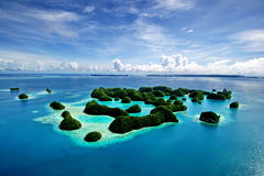 70 islands Palau Stock Photography