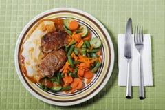 70 köttfärslimpa s Royaltyfri Foto