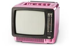 70. Retro- Fernsehapparat Lizenzfreie Stockbilder