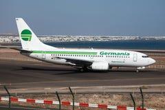 700 737 boeing germania Arkivbilder