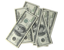 700 dollari Fotografie Stock Libere da Diritti