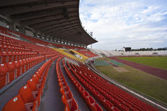 700 years stadium. In Chiang Mai Thailand Royalty Free Stock Photography