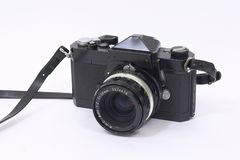 70s Era SLR 3/4 royalty free stock photo