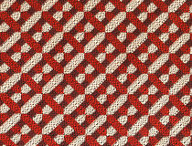 70´s style fabric Royalty Free Stock Image