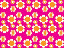 70s wallpaper 4. Vector image of 70s wallpaper - repeatable pattern Stock Images