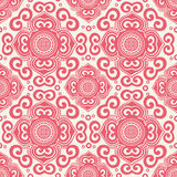 70s wallpaper pattern. Vector illustration of a 70s wallpaper. Seamless pattern Royalty Free Stock Photos