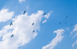 The 70th Doolittle Raiders Reunion. Of all the still existing B-25 bombers at Wright-Patterson AFB in Ohio Stock Images
