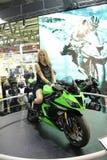 70th motorcykel Milan för EICMA 2012 Fotografering för Bildbyråer