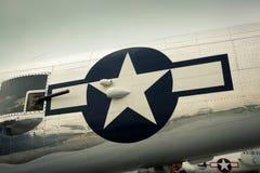 A 70th reunião dos aviões atacantes de Doolittle Fotografia de Stock Royalty Free