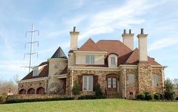 71座城堡家庭豪华 免版税库存图片