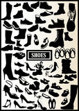 71 μαύρα παπούτσια Στοκ φωτογραφίες με δικαίωμα ελεύθερης χρήσης