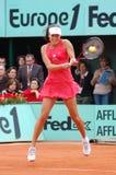71 2008年名言冠军garros ivanovic roland 免版税库存图片