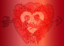 71 mój valentine byli Obraz Royalty Free