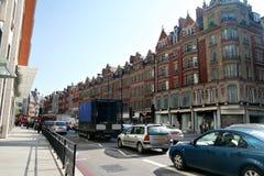 72 Brampton rd, Londres Imagen de archivo libre de regalías