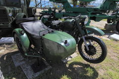 72 m摩托车 免版税库存图片