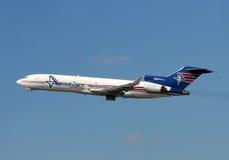 727架飞机amerijet波音货物 免版税图库摄影