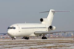 727 flygplan boeing arkivbilder