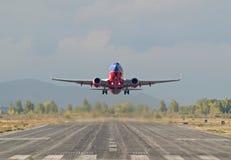 737起飞 图库摄影