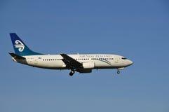 737 воздух Боинг Новая Зеландия Стоковые Изображения RF
