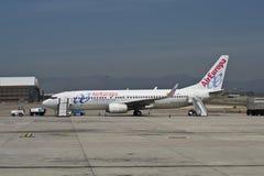 737 800 air boeing europa Fotografering för Bildbyråer