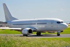 737 boeing Arkivbild