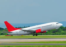 737 Boeing obrazy stock