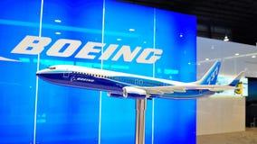 737 boeing för 800 airshow modell Arkivfoton